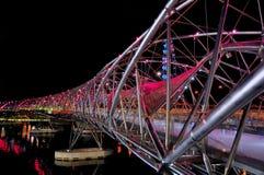 Doppelhelix-Brücke Lizenzfreies Stockbild