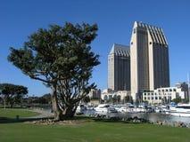 Doppelhotels San Diego Lizenzfreie Stockfotos