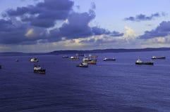 Doppelpunkt Panama Lizenzfreies Stockfoto