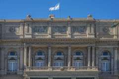 Doppelpunkt-Theater in Buenos Aires, Argentinien Stockfotografie