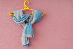 Doppelseitiger silk Schal Stockbild