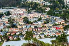 Doppelspitzen, San Francisco, Kalifornien, USA Lizenzfreie Stockfotografie