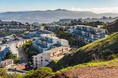 Doppelspitzen, San Francisco, Kalifornien, USA Lizenzfreie Stockbilder
