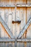 Doppelte hölzerne Stall-Tür Lizenzfreie Stockfotografie