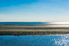 Doppelte Ozeanlandschaftsinselansicht Stockbild