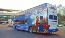Doppelter Decker Bus stockfotos