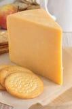 Doppelter Gloucester-Käse Lizenzfreies Stockbild