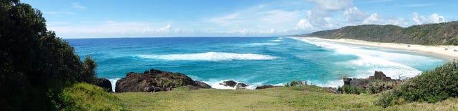 Doppelter Insel-Punkt Stockfoto