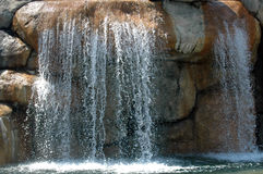 Doppelter Wasserfall Stockfotos