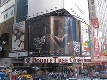 Doppeltes Baum-Times Square Stockbilder