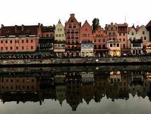 Doppeltes Gdansk Stockbilder