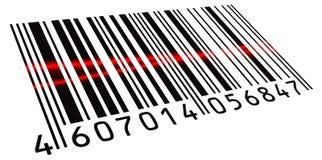 Doppeltes gescannter Barcode Lizenzfreie Stockfotos