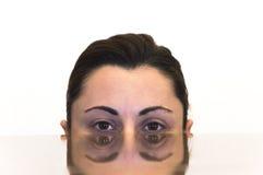 Doppeltes Gesicht stockbilder