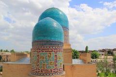 Doppeltes gewölbtes Mausoleum Lizenzfreies Stockfoto