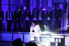 Doppeltes Michael-Jackson Stockfotografie