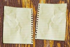 Doppeltes Papier lizenzfreie stockfotos