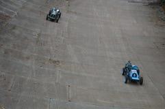 Doppeltes zwölf Motorsport-Festivalereignis bei Brooklands Stockbild