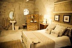 Doppelzimmer im Gästehaus Lizenzfreies Stockfoto