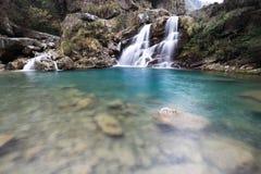 Doppia cascata Immagini Stock Libere da Diritti