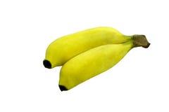 Doppia frutta della banana Immagini Stock Libere da Diritti
