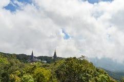 Doppia pagoda Immagini Stock