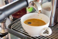 Doppio caffè espresso Fotografie Stock