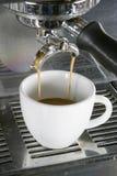 Doppio caffè espresso Fotografia Stock