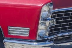 Doppio faro di vecchia automobile Fotografia Stock Libera da Diritti