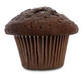 Doppio muffin del cioccolato Fotografie Stock Libere da Diritti