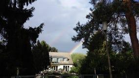 Doppio Rainbow Fotografia Stock Libera da Diritti