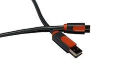 Doppio USB 2.0 immagine stock