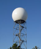 Doppler radar dome Stock Images