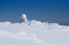 Doppler radar station Stock Images