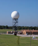 Doppler radar tower Stock Photo