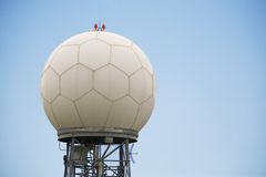 Doppler Weather Radar Station Stock Photo