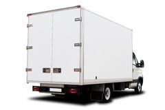 doręczeniowa ciężarówka Obrazy Royalty Free