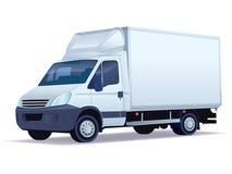 doręczeniowa ciężarówka Zdjęcia Royalty Free