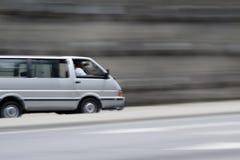 doręczeniowy samochód dostawczy fotografia royalty free