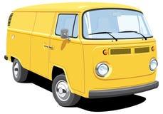 doręczeniowy samochód dostawczy Zdjęcia Royalty Free