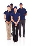 Doręczeniowy usługowy personel Fotografia Royalty Free