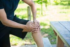 Dor articular do joelho fora
