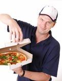 doręczeniowa pizza Obraz Royalty Free