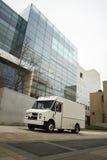 Doręczeniowego samochodu dostawczego biuro Zdjęcie Royalty Free