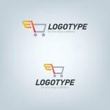 Doręczeniowej firmy logo Fotografia Royalty Free