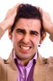 dor de cabeça Fotos de Stock Royalty Free