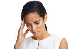 Dor de cabeça do trabalho Imagens de Stock