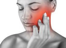 Dor de dente Imagem de Stock