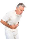 Dor de estômago Fotografia de Stock