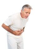 Dor de estômago Fotos de Stock