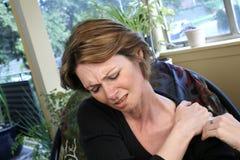 dor do ombro Imagem de Stock